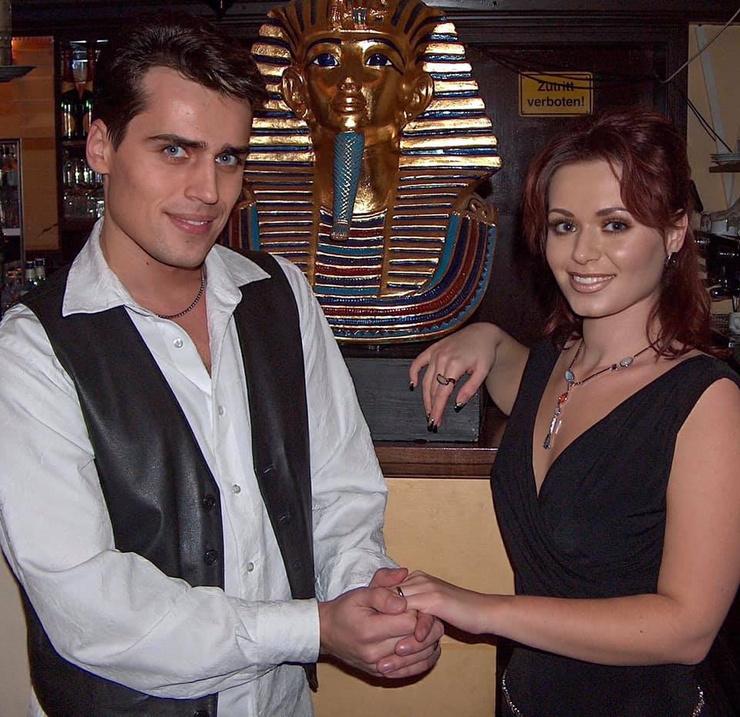 Сергей Вязовский и его жена Ирина