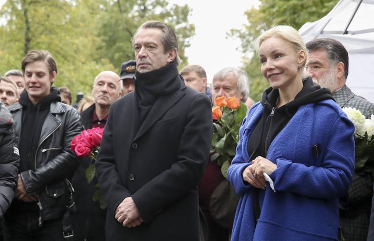 Церемонию посетил и Владимир Машков