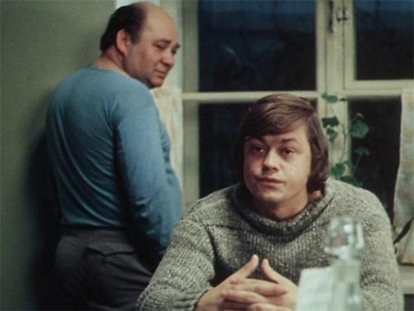 Караченцов и Леонов в картине «Старший сын»