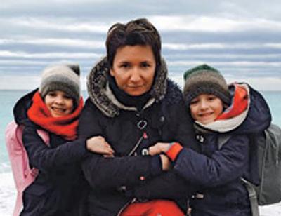 Диана Арбенина отметила первый юбилей своих двойняшек