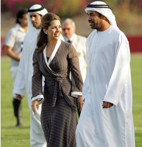Принцесса Хайя и эмир Дубая