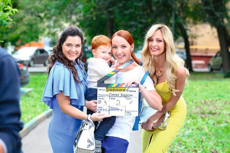 Галина стала мамой еще во время съемок в сериале «Деффчонки»