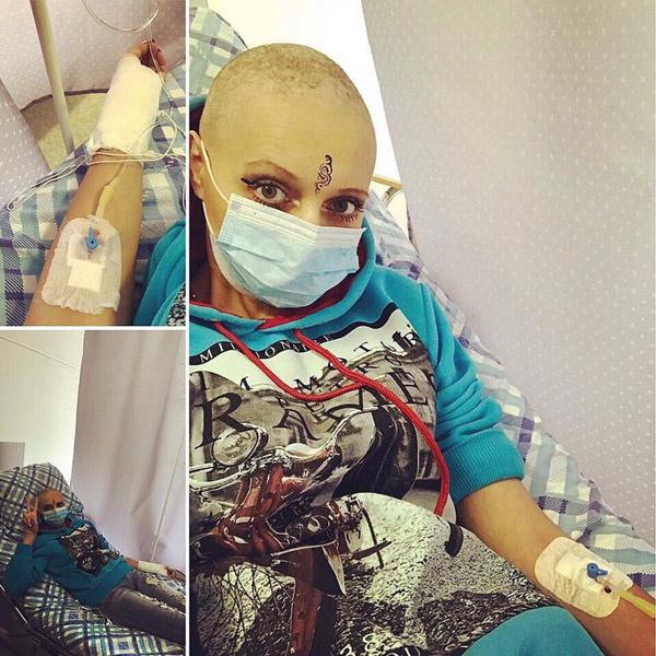 Певица несколько лет борется с раком