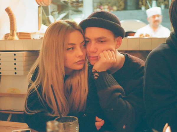 Катя Кищук с бойфрендом Иваном