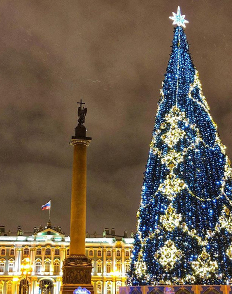 Зимний Санкт-Петербург прекрасен