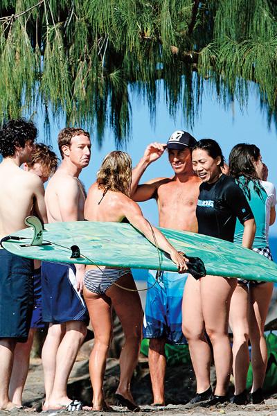 На Гавайях, где пара часто проводит отпуск, Марк уже успел приобрести участок за $66 млн