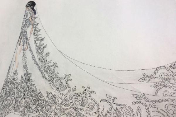 Виктория уверена, что в свадебном платье она будет выглядеть сногсшибательно