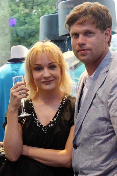 Татьяна с мужем Владиславом Радимовым