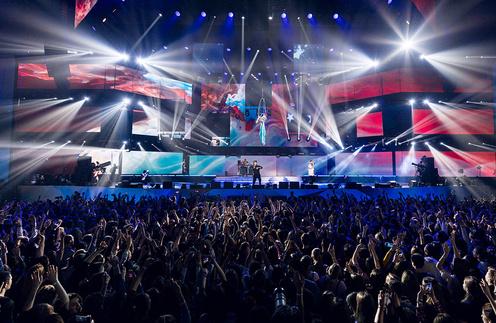 звездный концерт в «Олимпийском»