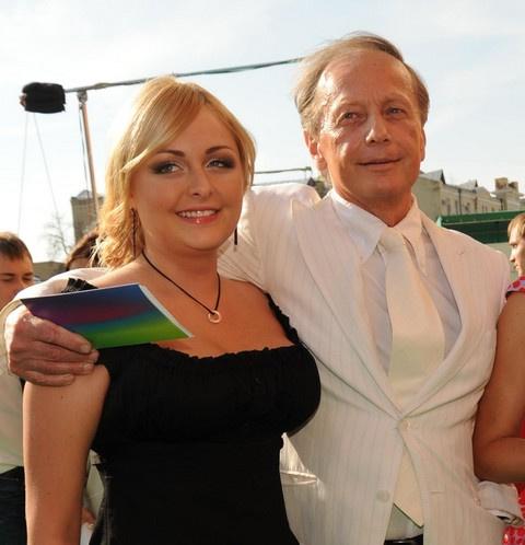 Михаил Задорнов с дочерью Еленой