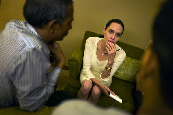 Анджелина Джоли продолжает много работать, несмотря на проблемы со здоровьем
