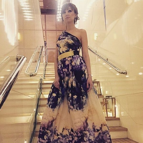 Такое платье звезда выбрала для кастинга