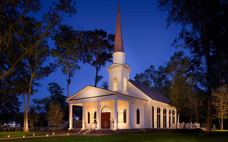 Венчание пройдет в церкви, расположенной на территории отеля