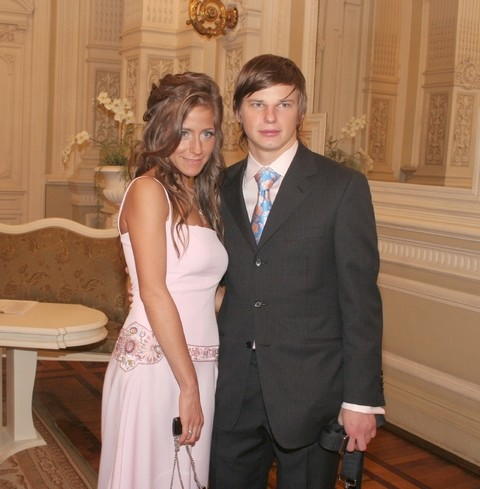 Юлия Барановская и Андрей Аршавин