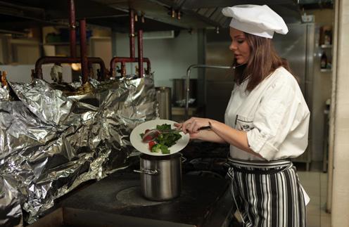 Лиза Боярская научилась готовить минестроне