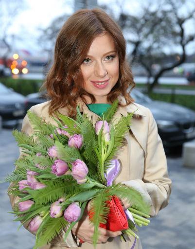 Юлия Савичева на премьере фильма «Свободный день»