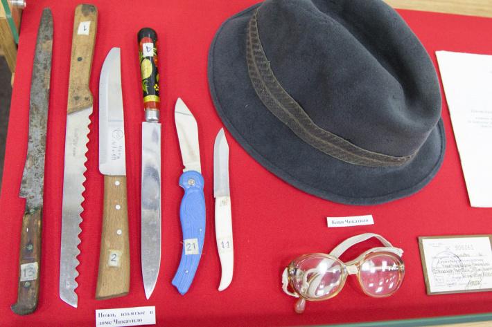 Орудия убийства были найдены в доме Андрея Чикатило в начале 90-х