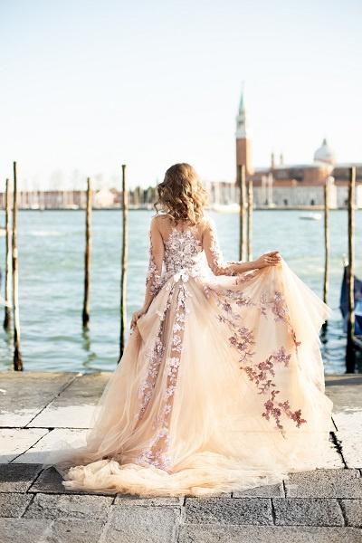 Кристина Арустамова впервые побывала в Венеции