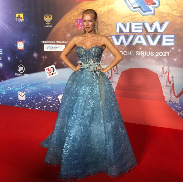 Закрытие «Новой волны»: исхудавшая Лолита, Басков со спутницей, Орбакайте в платье греческой богини