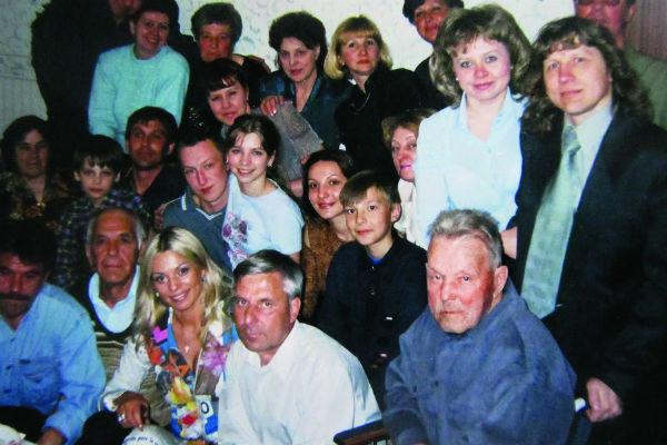 Ирина Салтыкова с папой и дедушкой