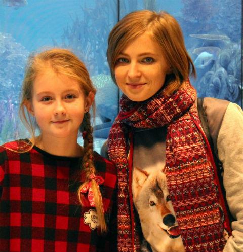 Наталья Поклонская с дочерью Настей
