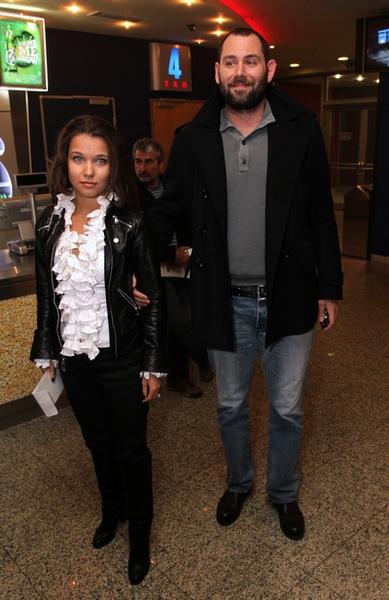 Семен Слепаков с супругой