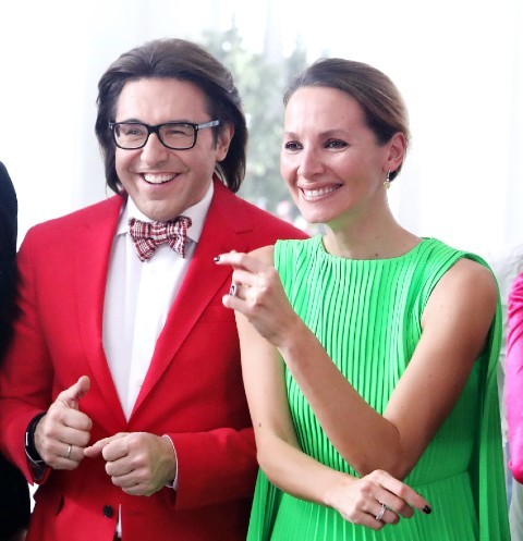 Андрей Малахов и Дарья Златопольская