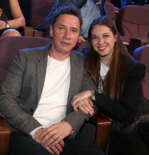 Александр Яценко с супругой