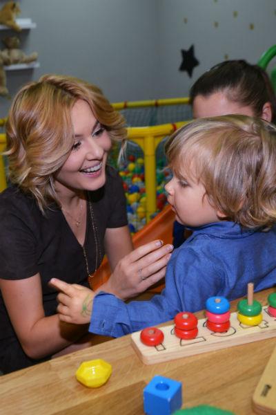 Мария Кожевникова с сыном Ваней