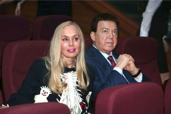 Нелли Кобзон и Иосиф Кобзон на творческом вечере Валерии в этом году