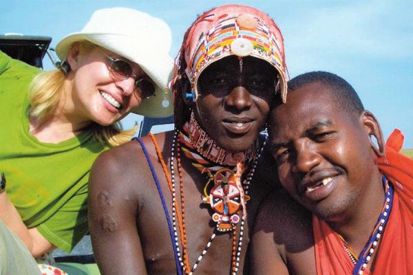 В Африке певица мечтает вернуться еще раз