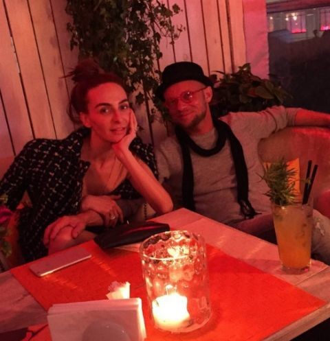 Екатерина Варнава на ужине с Дмитрием Хрусталевым