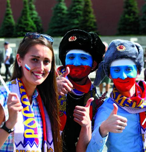 Болельщики из России продемонстрировали чудеса гостеприимства