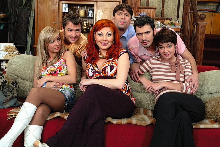 В сериале «Счастливы вместе» Наталья играла роль ленивой и склочной Даши Букиной