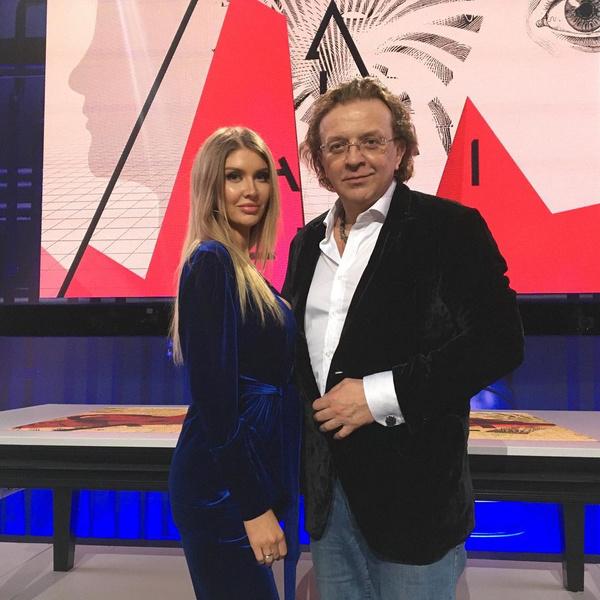 Рома Жуков с женой