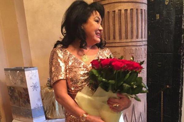 Клара Кузденбаева отметила день рождения в Москве