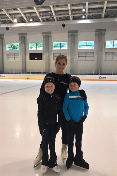 Фигуристка стала тренером в «Академии чемпионов Ильиных-Липницкой»