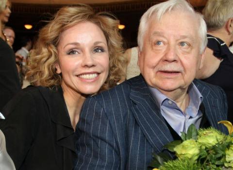 Марина Зудина рассказала, как начинался ее роман с Олегом Табаковым