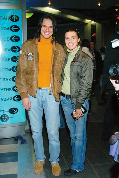 Певец со второй супругой Ириной на премьере фильма «Давайте потанцуем», ноябрь 2011 года
