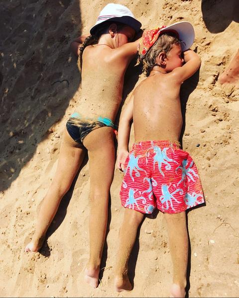 Резо опубликовал трогательный кадр сына и дочери