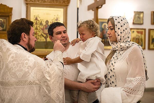 Даня с крестными — Евгенией Торбинской и Николаем Жирковым