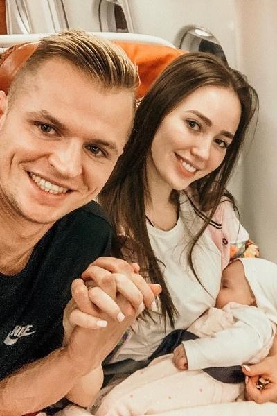 Дмитрий Тарасов обрел счастье в браке с Анастасией Костенко