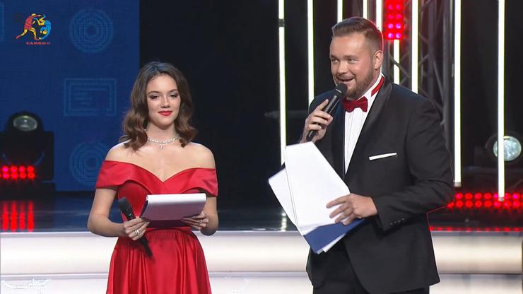 Евгения Медведева и Александ Белый
