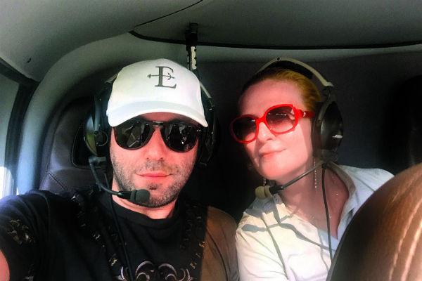 Красоты  Лазурного   Берега мы  с женой  обозревали  и с борта  вертолета