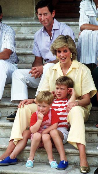 После рождения принца Гарри леди Ди с головой ушла в материнство