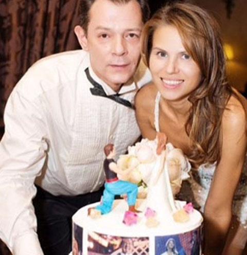 Вадим и Ольга Казаченко выглядели очень счастливыми