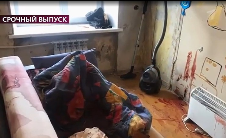 В квартире убийцы повсюду была кровь