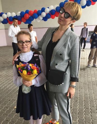 Яна Чурикова с дочерью Таисией