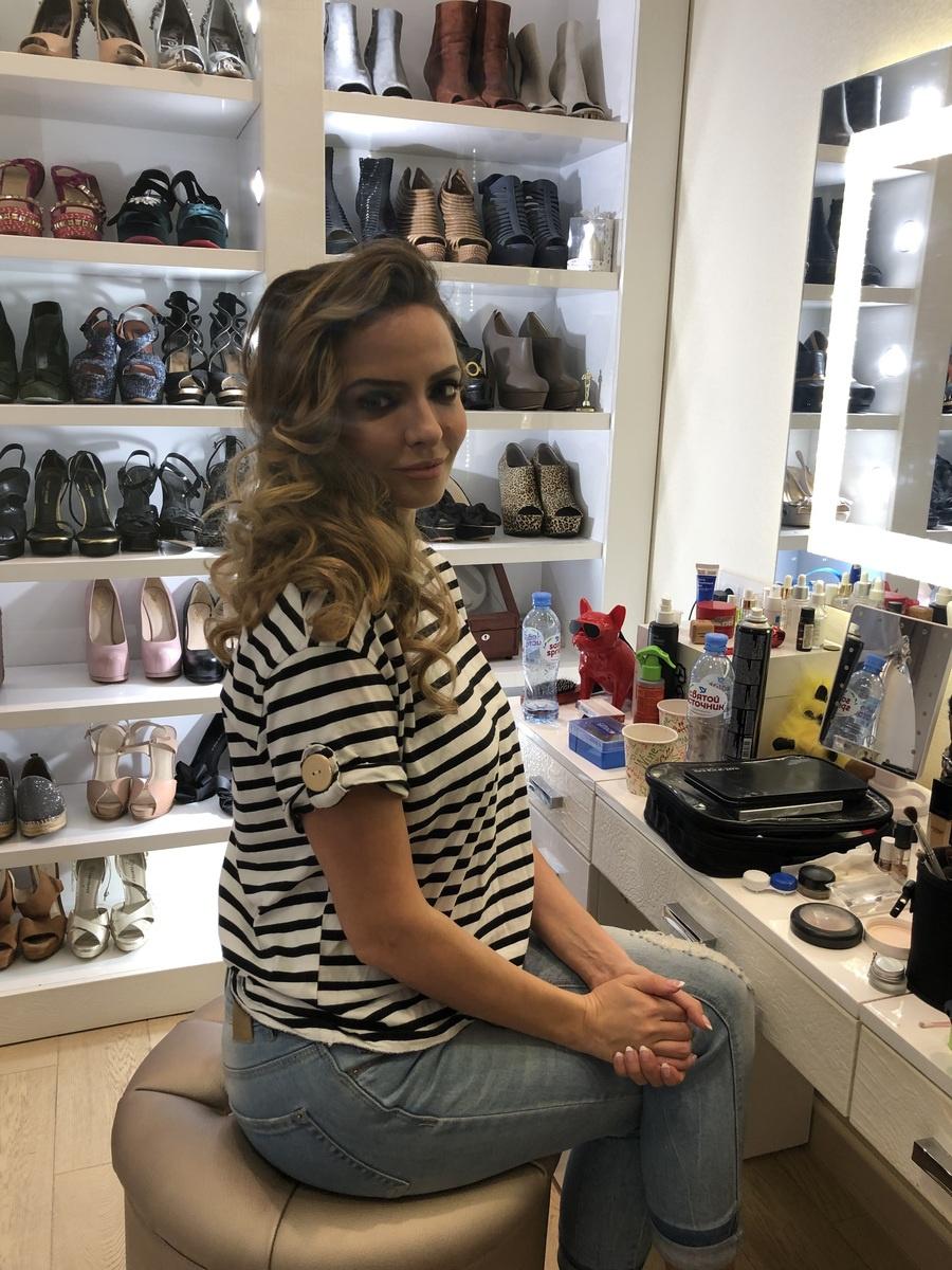 Марина Орлова в настоящей гардеробной своей героини