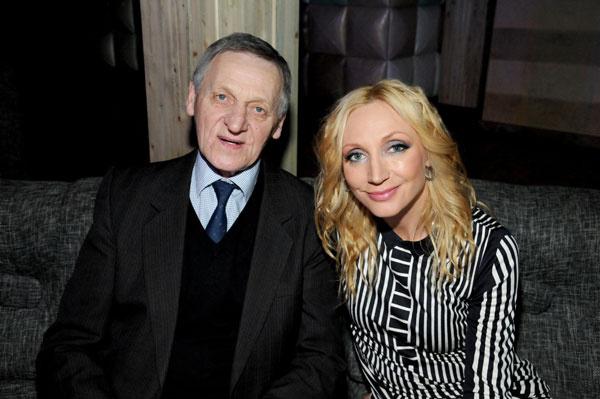 Кристина с отцом Мколасом Орбакасом